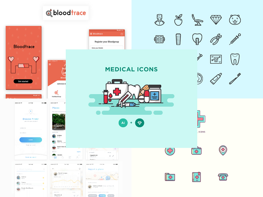 Medical Freebies – Icons, Templates, and Apps UI
