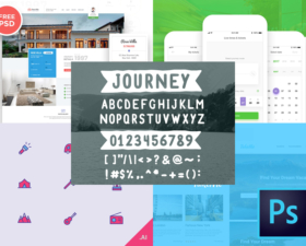Travel Freebies – Icons, Fonts, Templates, and More