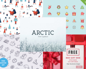 Winter Freebies – Icy Cool Winter-Inspired Collection