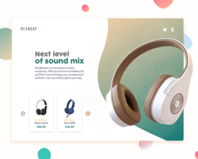 Nexbeat – Adobe XD Template